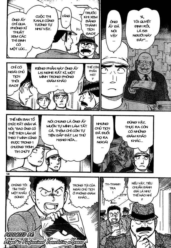 Detective Conan - Thám Tử Lừng Danh Conan chap 659 page 15 - IZTruyenTranh.com