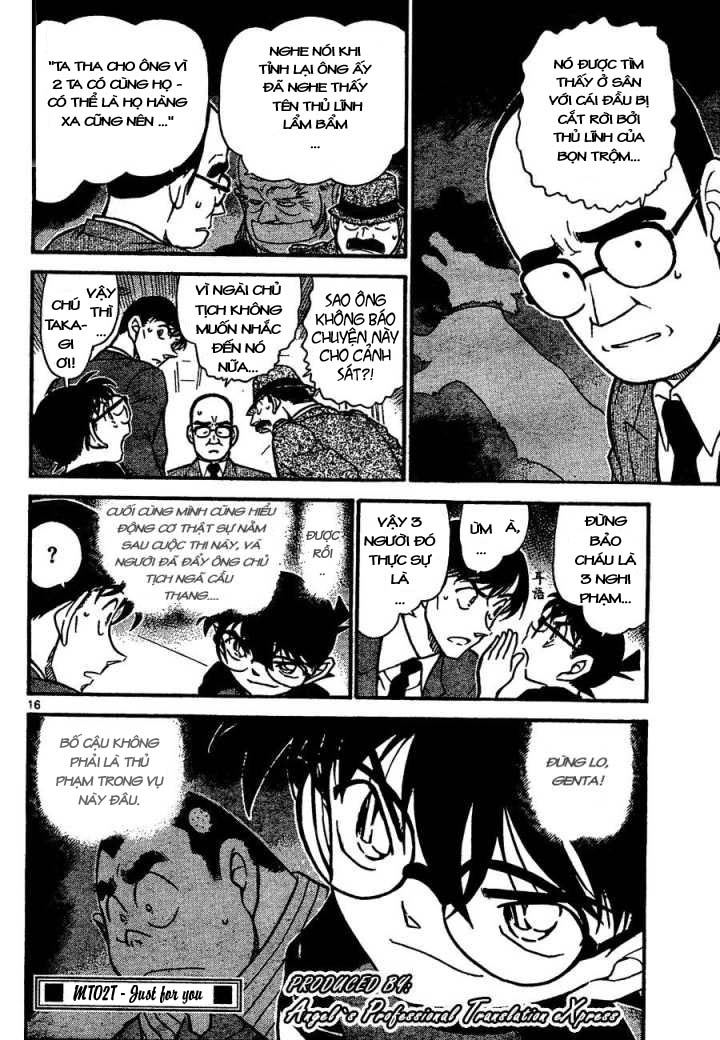 Detective Conan - Thám Tử Lừng Danh Conan chap 659 page 17 - IZTruyenTranh.com