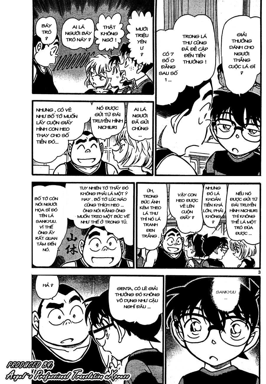 Detective Conan - Thám Tử Lừng Danh Conan chap 658 page 3 - IZTruyenTranh.com