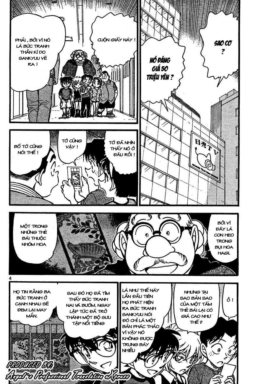 Detective Conan - Thám Tử Lừng Danh Conan chap 658 page 4 - IZTruyenTranh.com