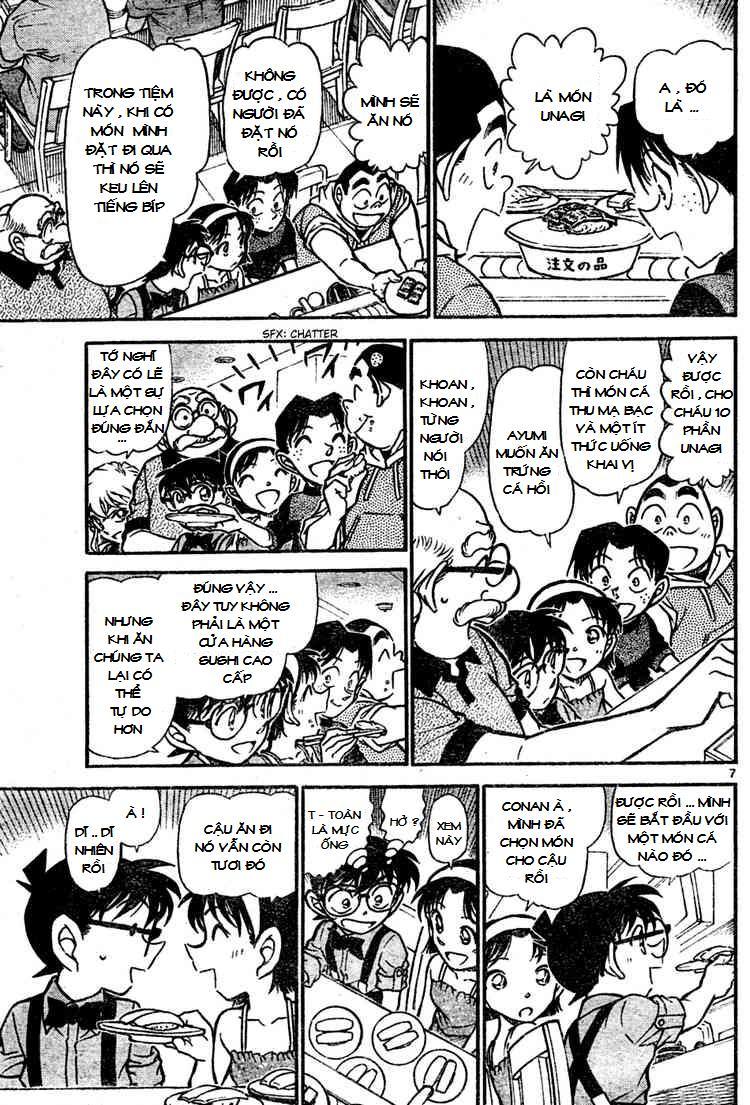 Detective Conan - Thám Tử Lừng Danh Conan chap 655 page 7 - IZTruyenTranh.com