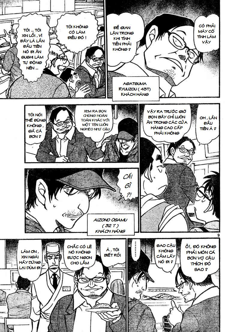 Detective Conan - Thám Tử Lừng Danh Conan chap 655 page 9 - IZTruyenTranh.com
