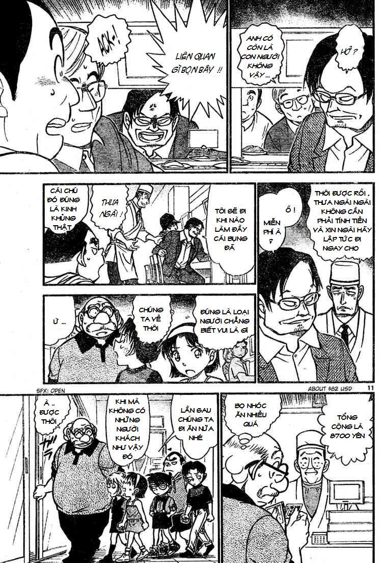 Detective Conan - Thám Tử Lừng Danh Conan chap 655 page 11 - IZTruyenTranh.com