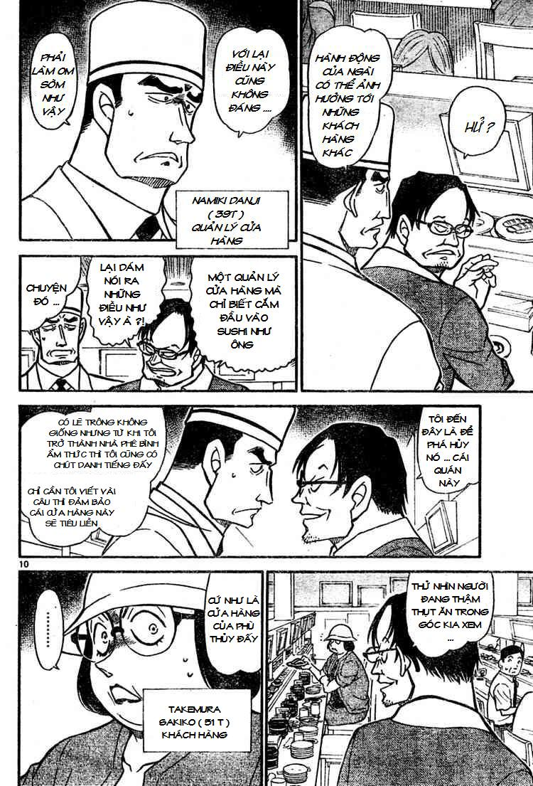 Detective Conan - Thám Tử Lừng Danh Conan chap 655 page 10 - IZTruyenTranh.com