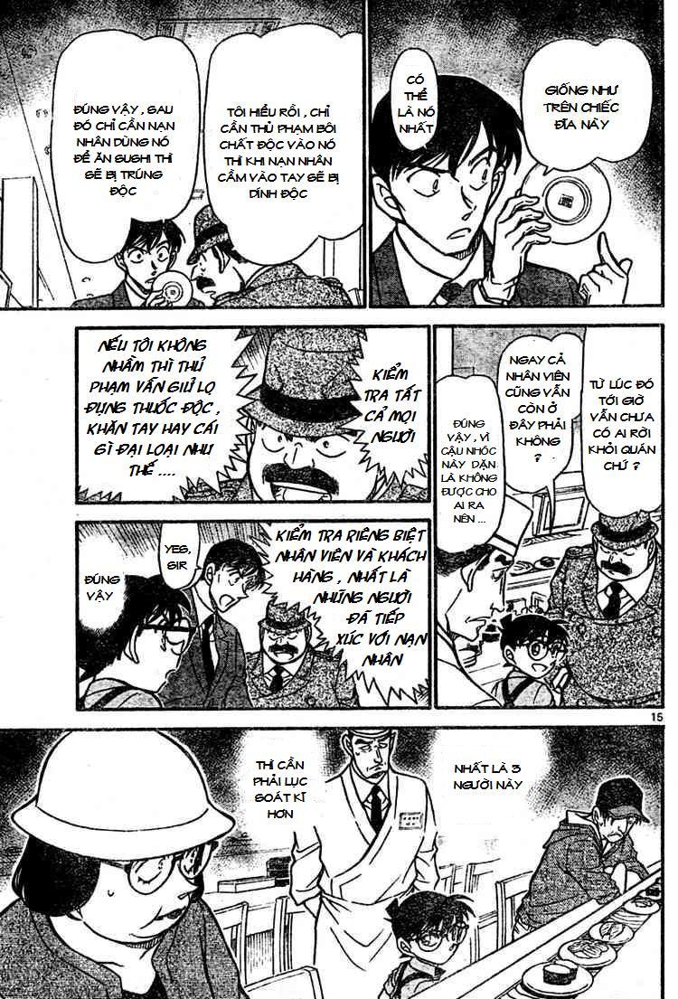 Detective Conan - Thám Tử Lừng Danh Conan chap 655 page 15 - IZTruyenTranh.com