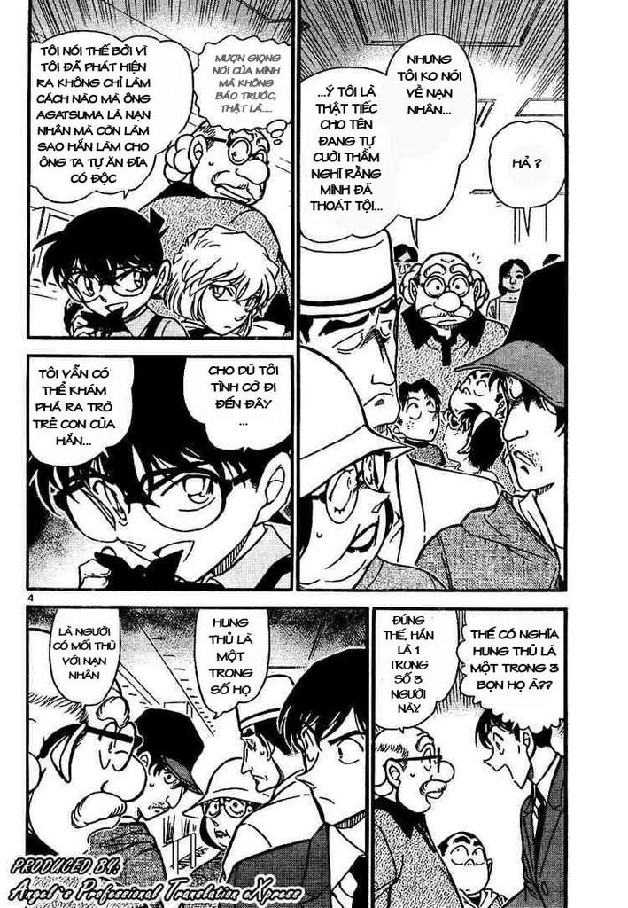 Detective Conan - Thám Tử Lừng Danh Conan chap 657 page 4 - IZTruyenTranh.com