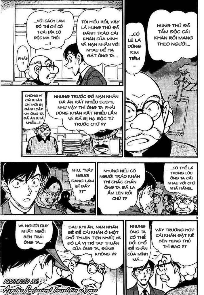 Detective Conan - Thám Tử Lừng Danh Conan chap 657 page 9 - IZTruyenTranh.com