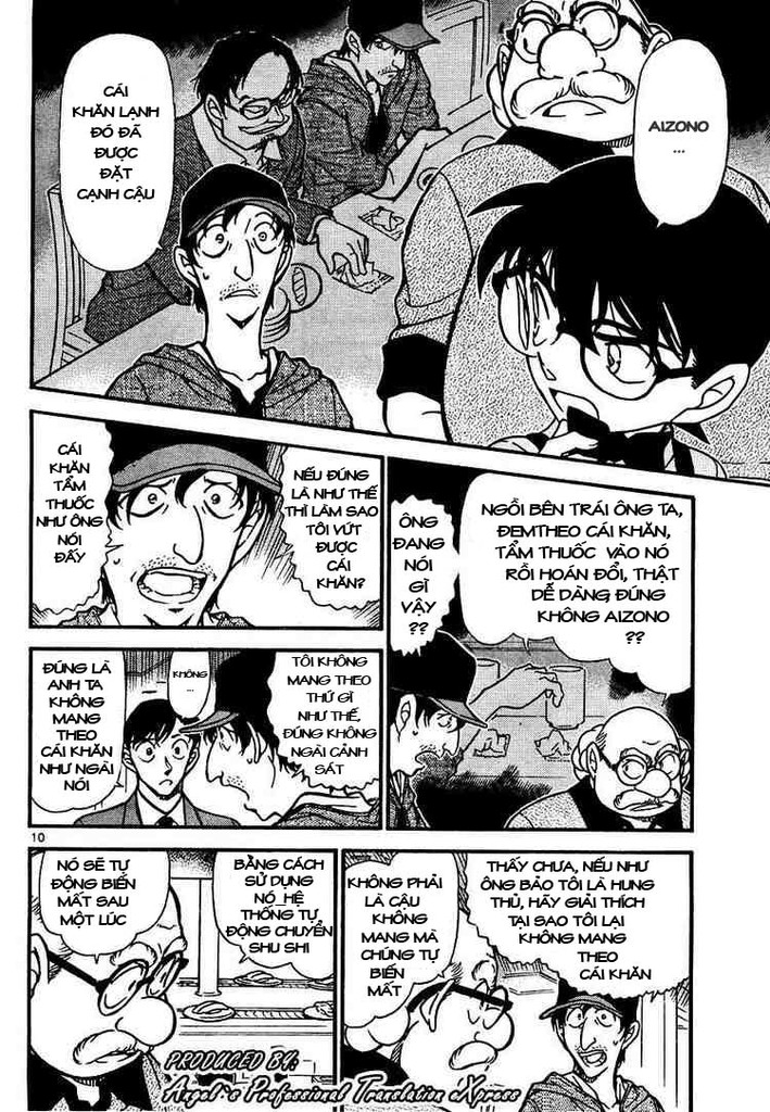 Detective Conan - Thám Tử Lừng Danh Conan chap 657 page 10 - IZTruyenTranh.com