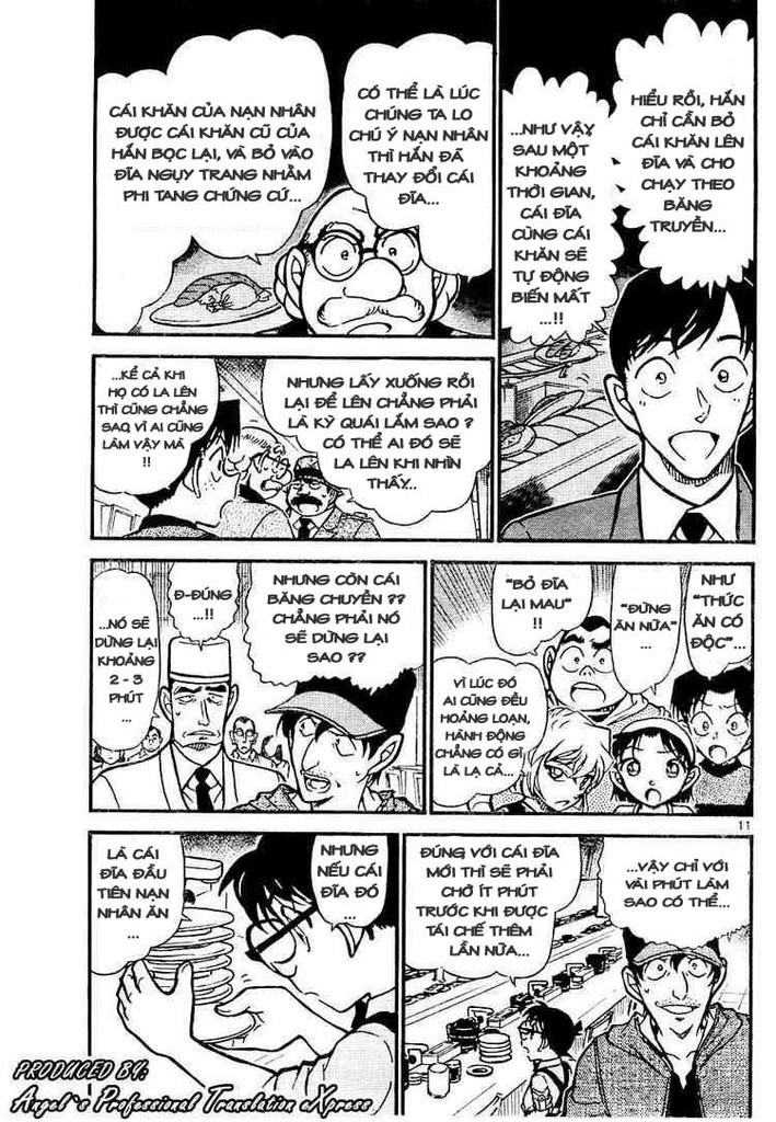 Detective Conan - Thám Tử Lừng Danh Conan chap 657 page 11 - IZTruyenTranh.com