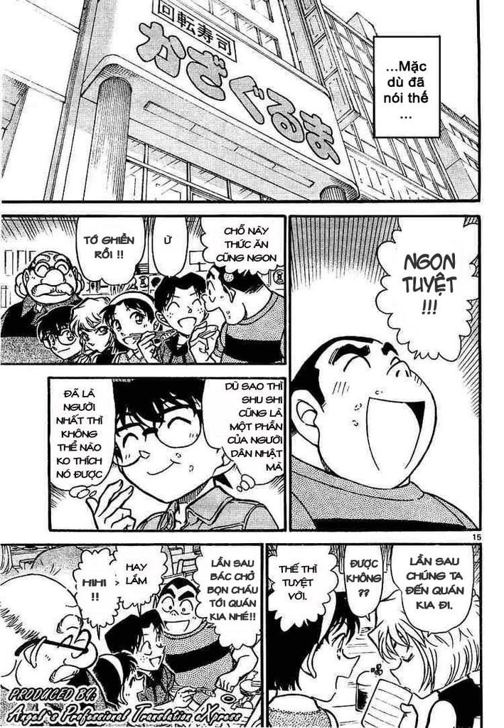 Detective Conan - Thám Tử Lừng Danh Conan chap 657 page 15 - IZTruyenTranh.com
