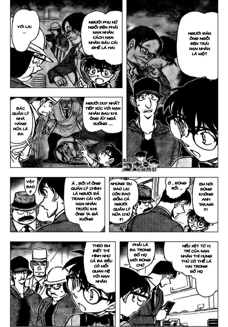 Detective Conan - Thám Tử Lừng Danh Conan chap 656 page 4 - IZTruyenTranh.com