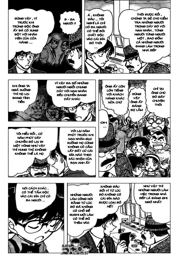 Detective Conan - Thám Tử Lừng Danh Conan chap 656 page 3 - IZTruyenTranh.com