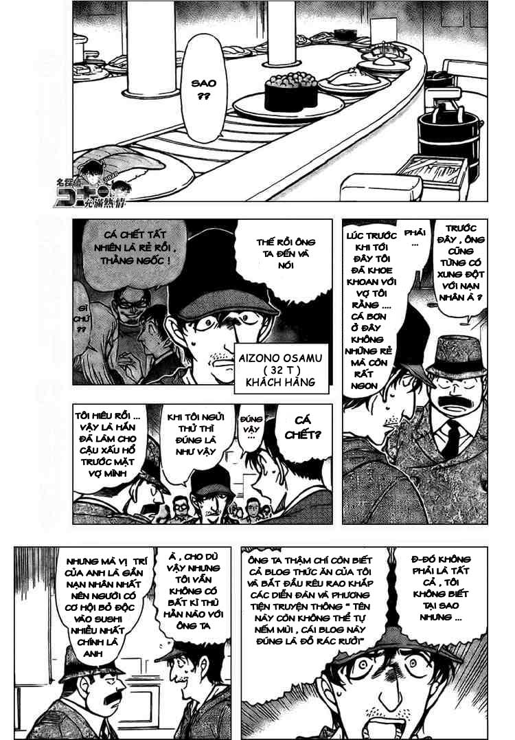 Detective Conan - Thám Tử Lừng Danh Conan chap 656 page 5 - IZTruyenTranh.com