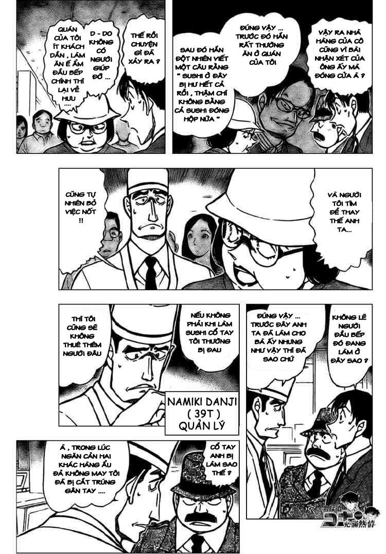 Detective Conan - Thám Tử Lừng Danh Conan chap 656 page 7 - IZTruyenTranh.com