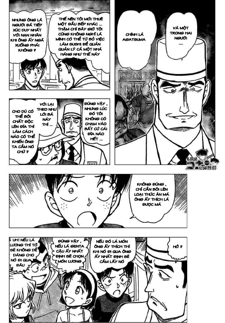 Detective Conan - Thám Tử Lừng Danh Conan chap 656 page 8 - IZTruyenTranh.com