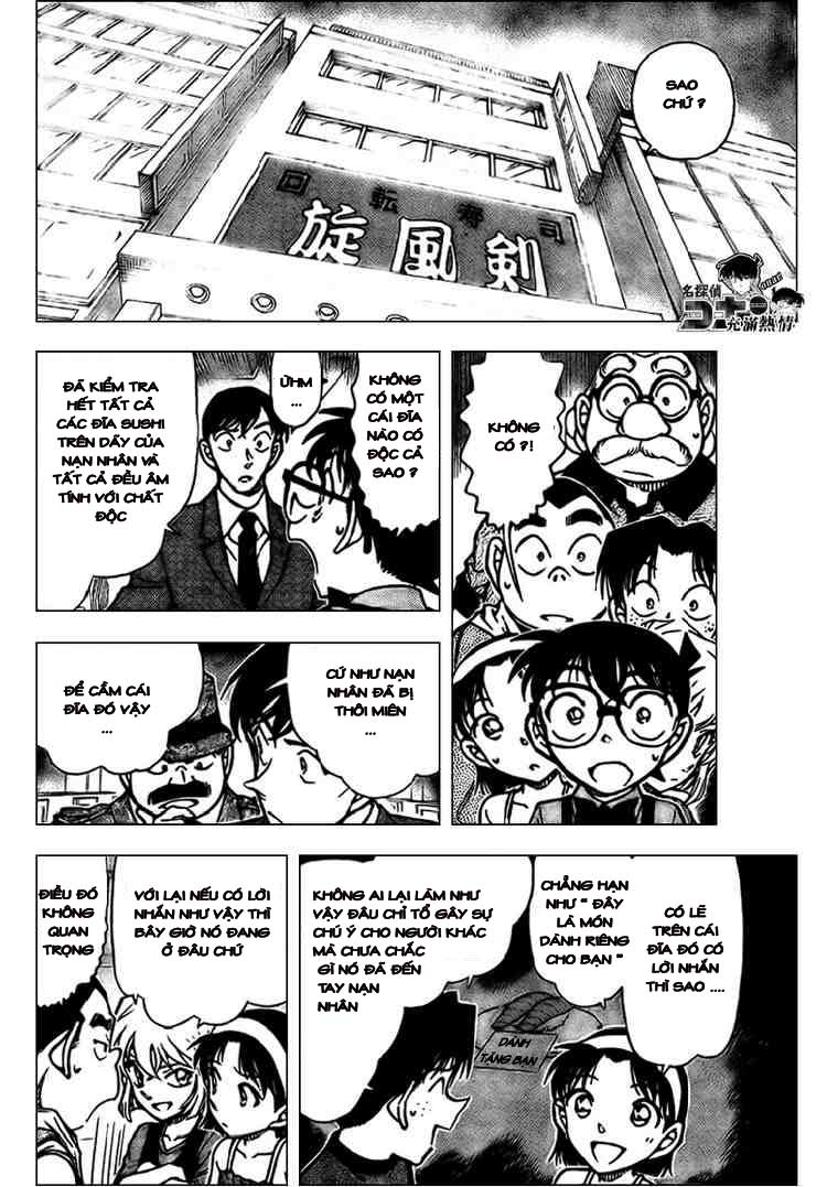Detective Conan - Thám Tử Lừng Danh Conan chap 656 page 14 - IZTruyenTranh.com