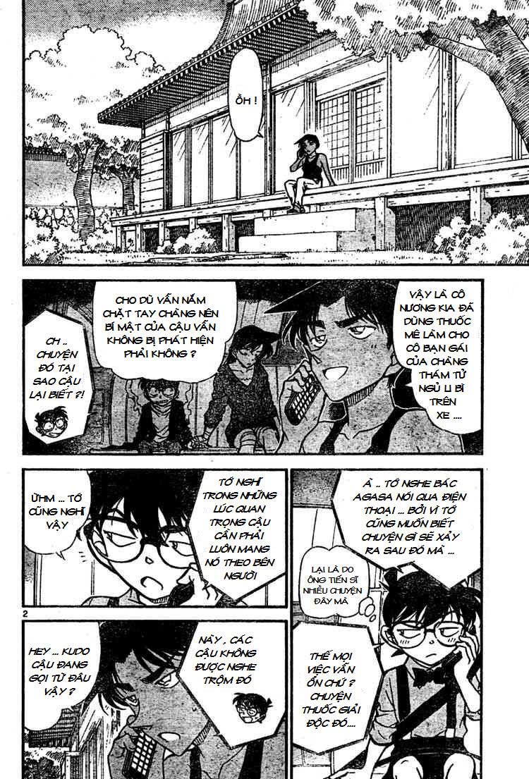 Detective Conan - Thám Tử Lừng Danh Conan chap 655 page 2 - IZTruyenTranh.com