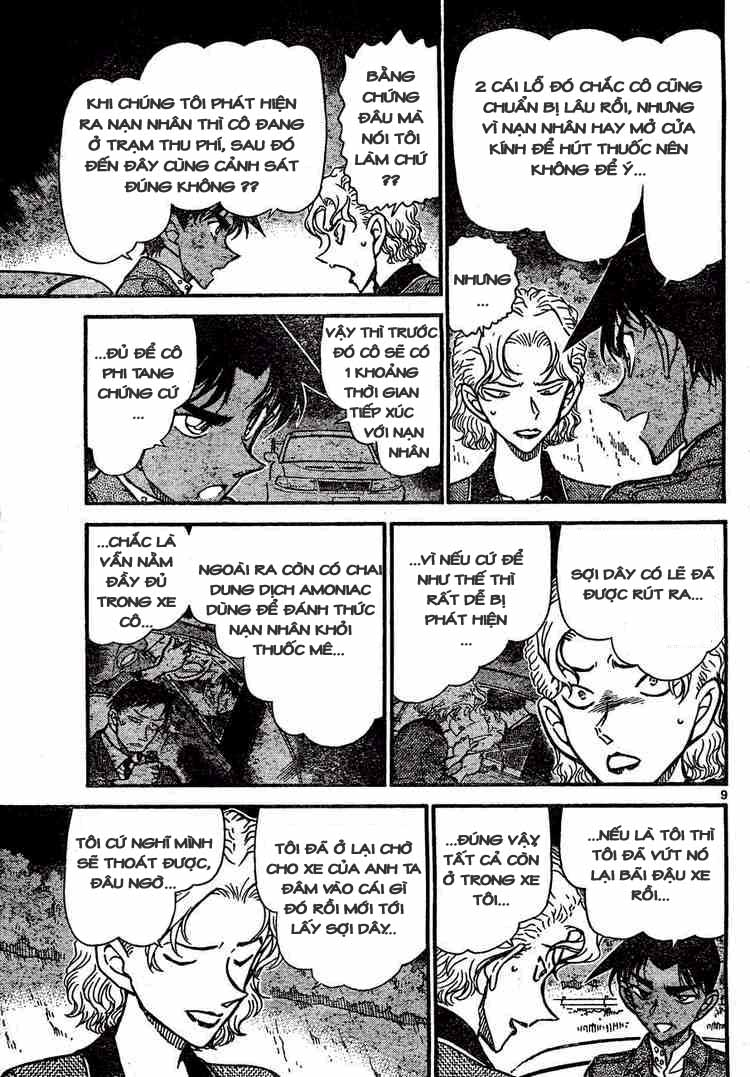 Detective Conan - Thám Tử Lừng Danh Conan chap 654 page 9 - IZTruyenTranh.com