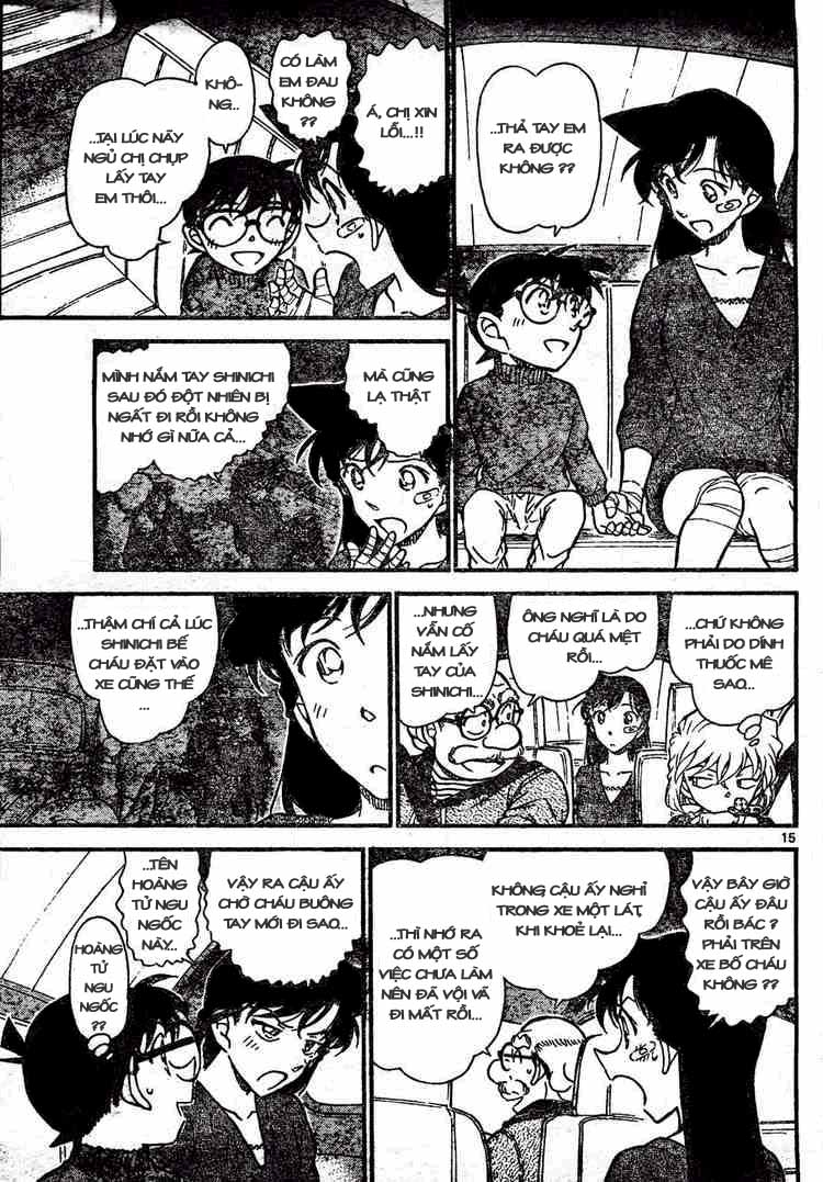 Detective Conan - Thám Tử Lừng Danh Conan chap 654 page 15 - IZTruyenTranh.com
