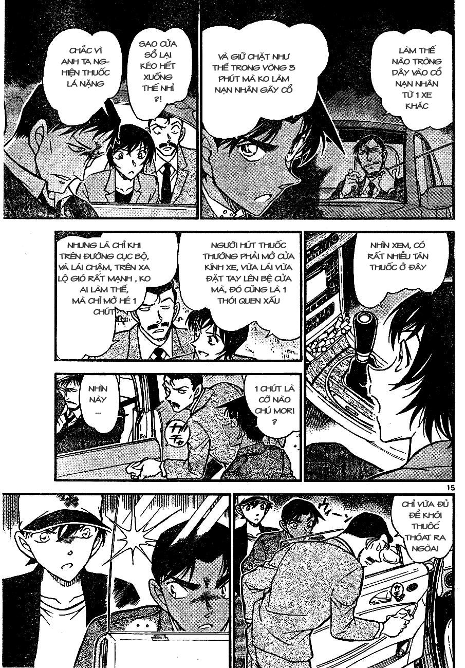 Detective Conan - Thám Tử Lừng Danh Conan chap 653 page 15 - IZTruyenTranh.com