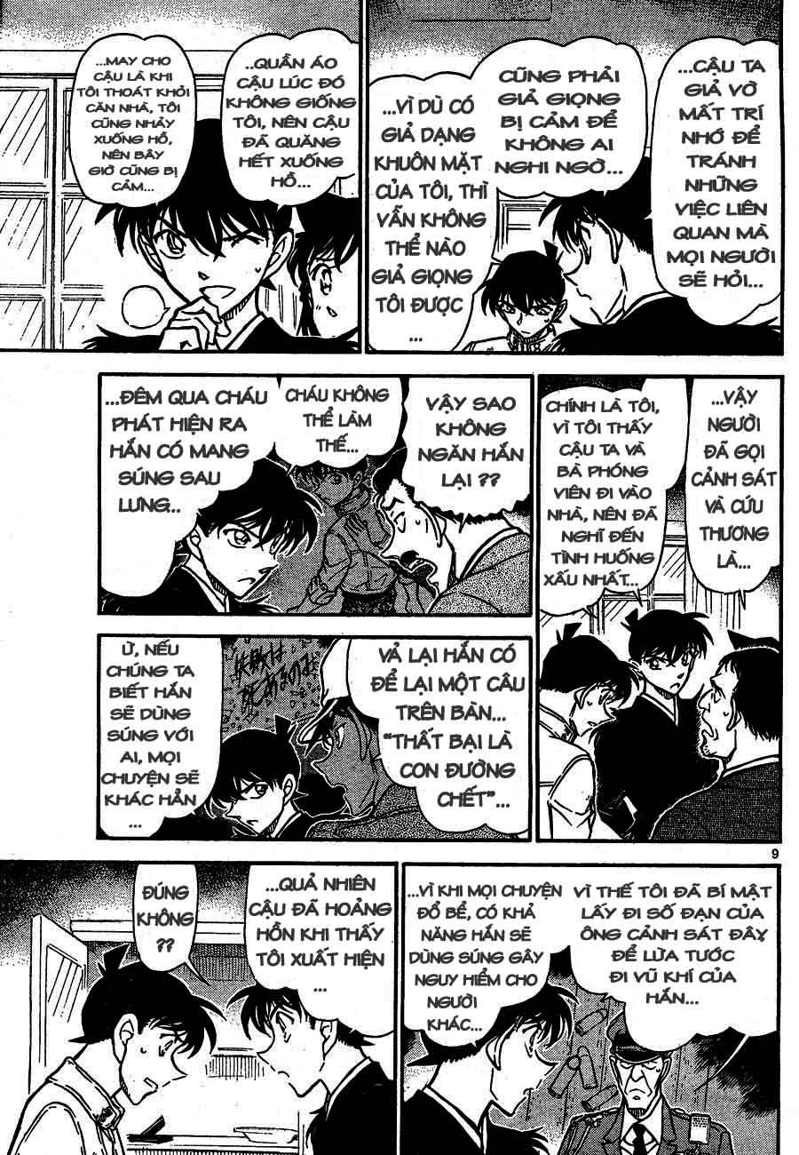 Detective Conan - Thám Tử Lừng Danh Conan chap 651 page 9 - IZTruyenTranh.com