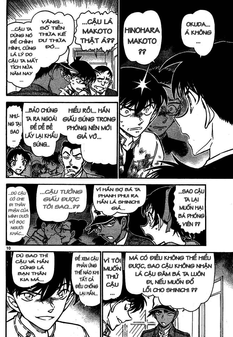 Detective Conan - Thám Tử Lừng Danh Conan chap 651 page 10 - IZTruyenTranh.com