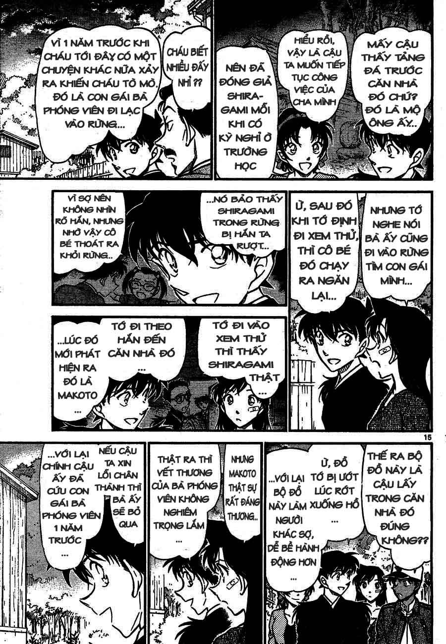 Detective Conan - Thám Tử Lừng Danh Conan chap 651 page 15 - IZTruyenTranh.com