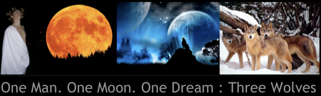 One Man. One Moon. One Dream : Three Wolves
