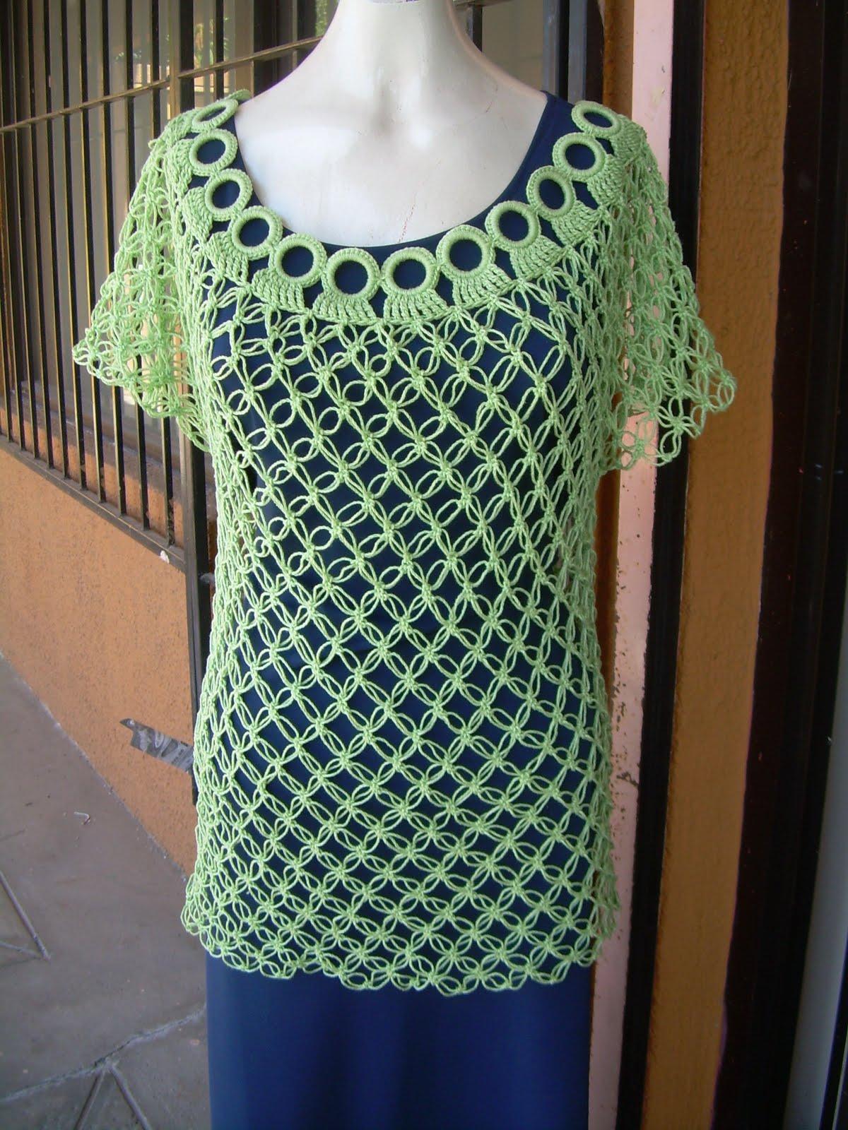 Como Hacer Blusas De Crochet