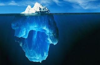 Como em um Iceberg, os números revelam apenas a parte visívelda ação missionária da Igreja.