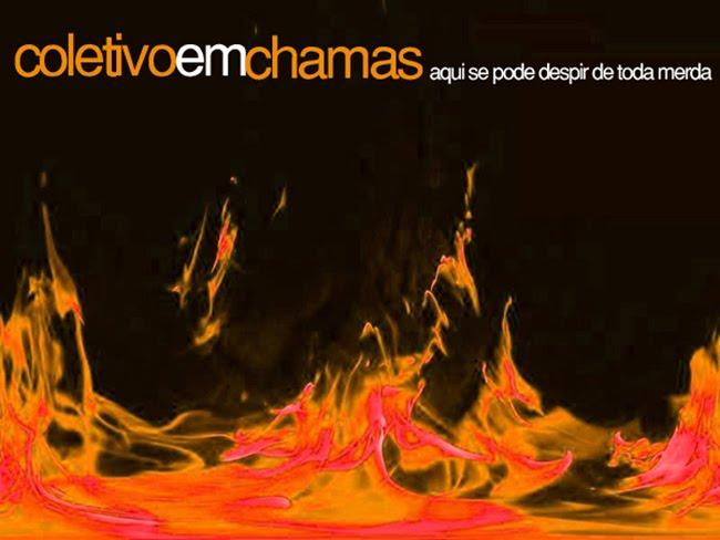 Coletivo em chamas