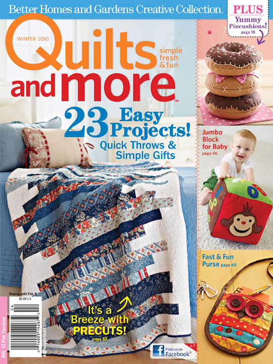 Angela Yosten: Quilts and More - Winter 2010