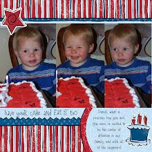 Daniels First Birthday