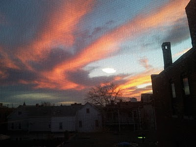 Red sky at night, sailor's delight