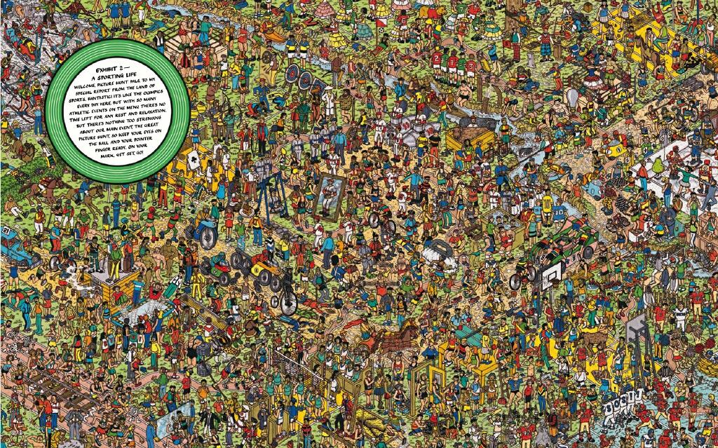Si deseas seguir buscando a Wally te dejo el link de donde hay una galería