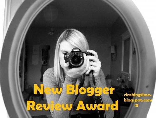 New Blogger Review Award