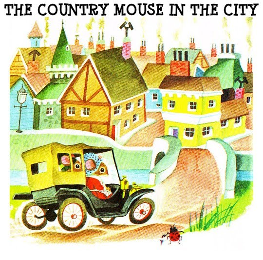 THE COUNTRY MOUSE IN THE CITY