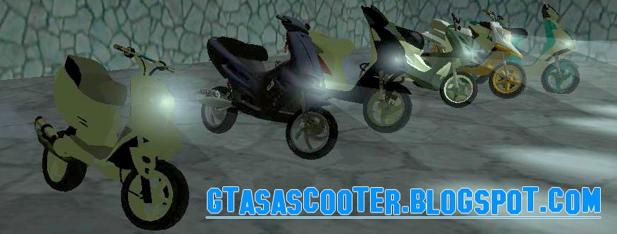 GTA Sa scooter