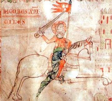 El bofordo o arte de la justa a caballo en Castilla SANTIAGO%2BDE%2BCASTILLA