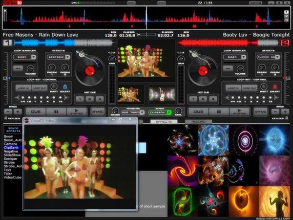 Atomix Virtual DJ Pro 7.0