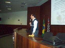 Palestra sobre Pedagogia Empresarial.