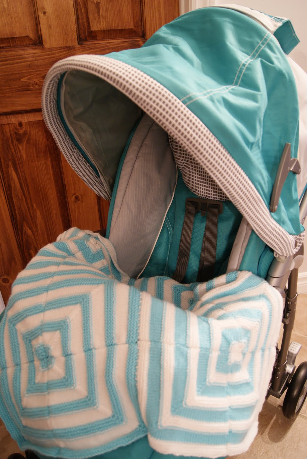 See Sophie Knit: FO : Baby stroller blanket