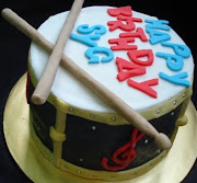 Drum cake