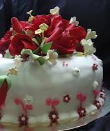 Fondant Cake A