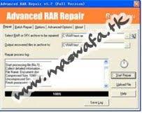Advanced ZIP, RAR, CAB and TAR Repair Full Serial Cracks