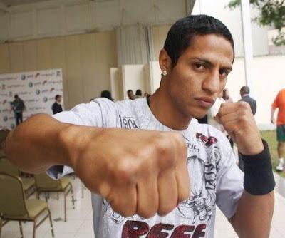 Boxeador Jonathan Maicelo
