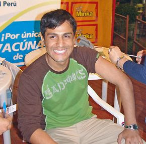 Actor Gerardo Zamora
