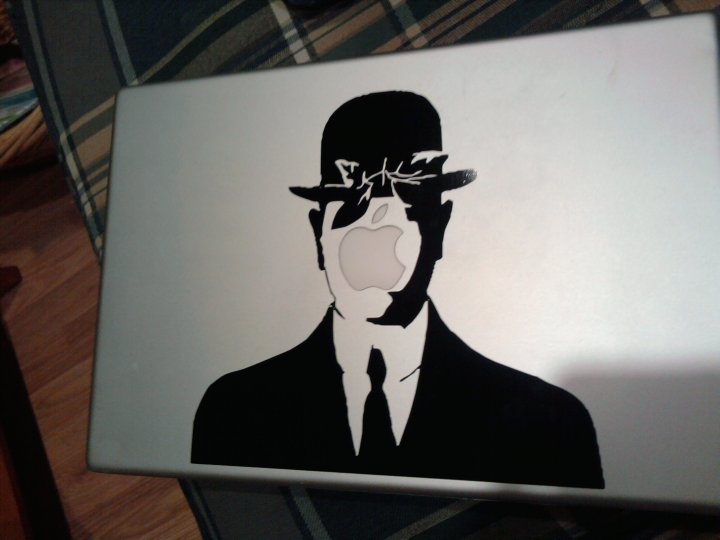 Apple Laptop Decal