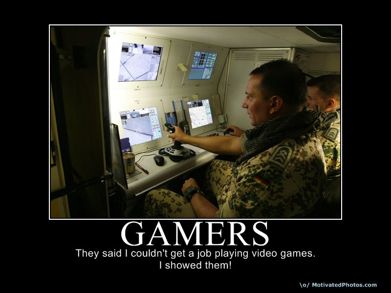 preparedness motivational poster. Gamers - Motivational Poster