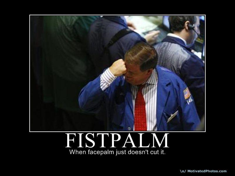 Fistpalm